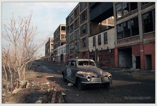 Packard Plant in Detroit