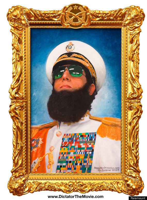 The Dictator with Sacha Baron Cohen