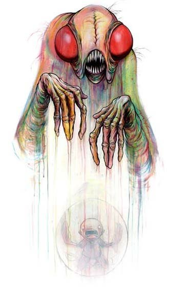 Digested Rainbow by Alex Pardee
