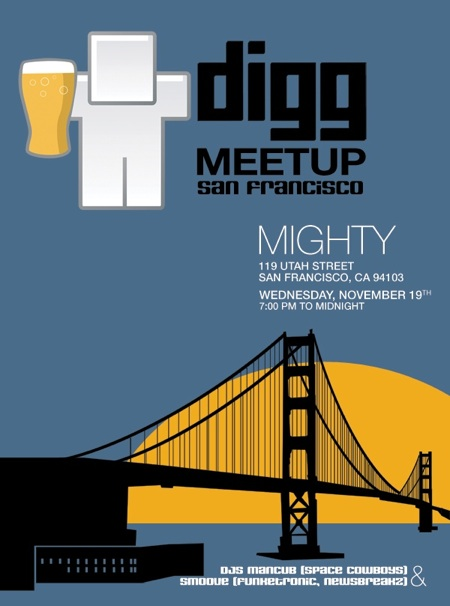 Digg Meetup San Francisco