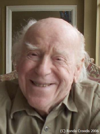 Donald Crowdis, 93 Year-Old Blogger