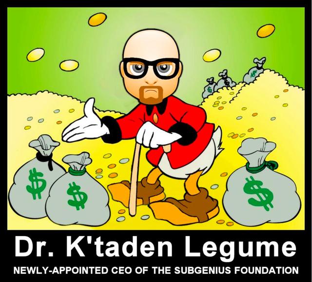 Dr. K'taden Legume
