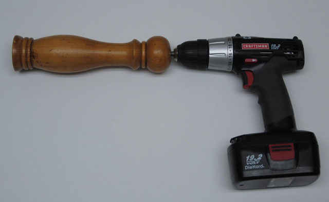 Cooking with cordless power drill