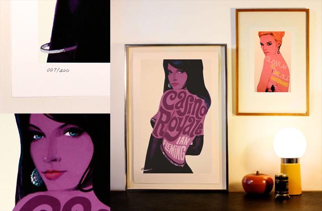 James Bond Prints by Michael Gillette