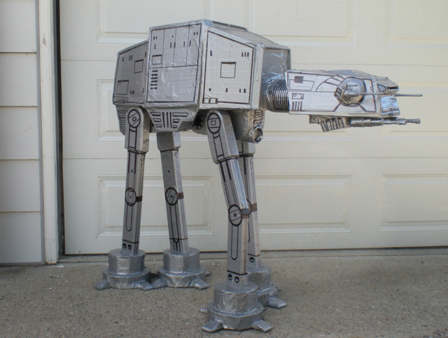 Fan Made duct tape AT-AT