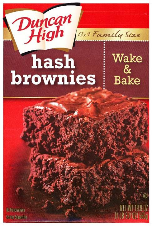 Duncan High Hash Brownies