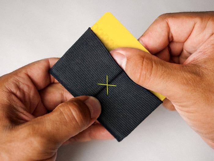 Slim ultra thin wallet