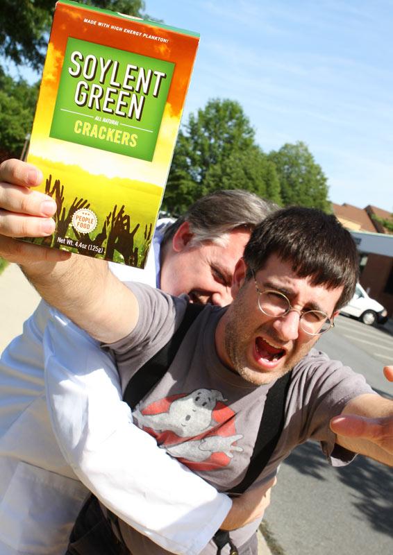 Soylent Green Crackers, Just Like Grandma Used To Taste