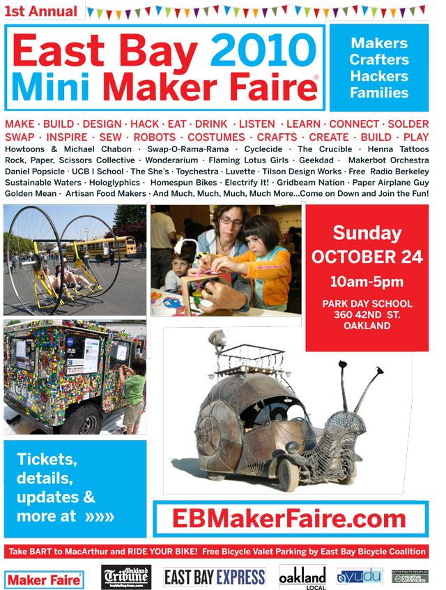 East Bay Mini Maker Faire 2010