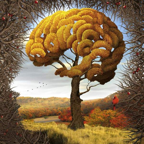 Surreal nature illustrations by Igor Morski