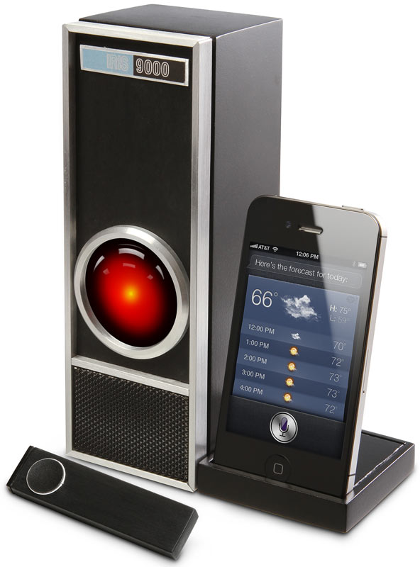 Iris 9000 for iPhone 4S and Siri by ThinkGeek