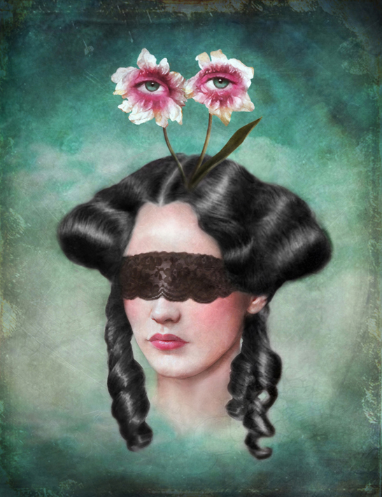 Surreal portraits by Marta Bielsa