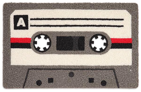 Cassette doormat by ThinkGeek