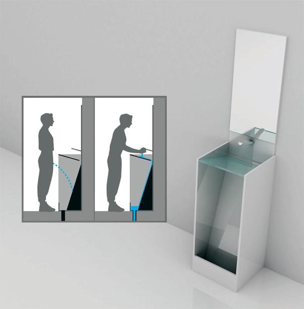 Eco Urinal A Combination Urinal amp Sink