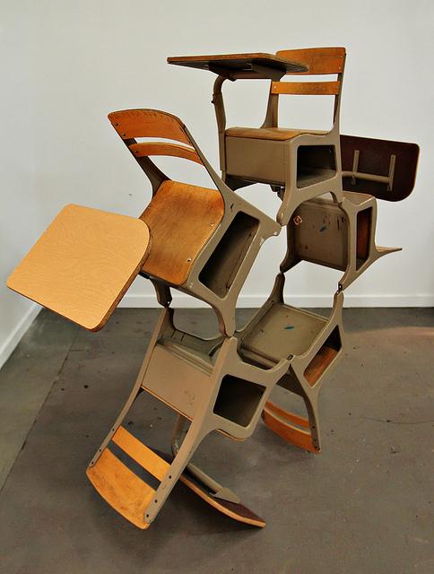Deformed childhood object sculptures by Sergio Garcia