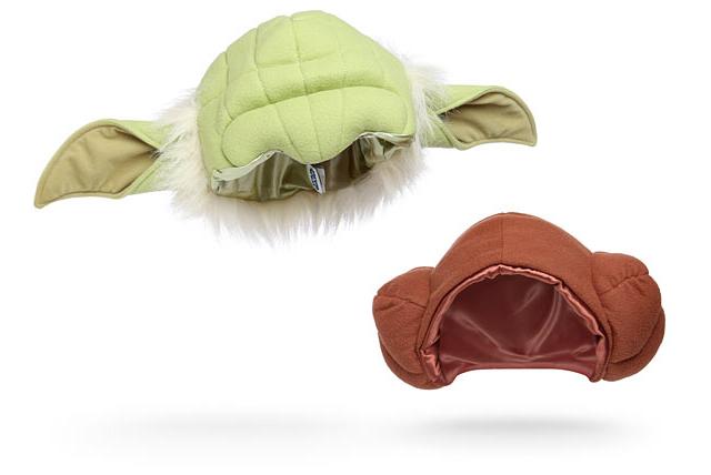 Star Wars Plush Character Hats at ThinkGeek