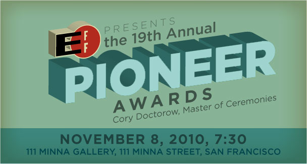 EFF Pioneer Awards