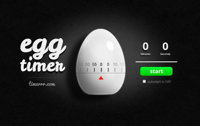 Timerrr Is An Intuitive Online Countdown Timer Based On Traditional Physical Kitchen Timers It Comes In Two Versions A Retro Rotary Style And