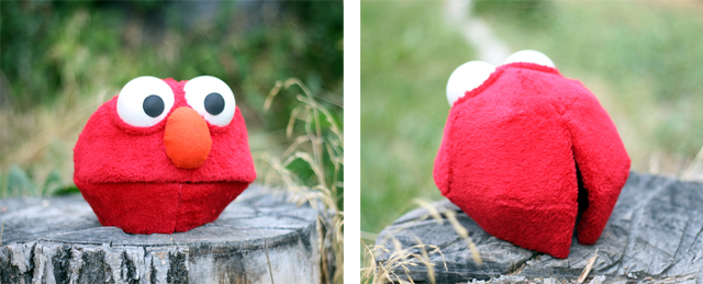 Elmo Mask by JustZipity