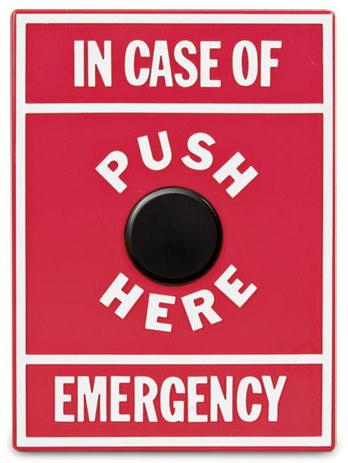 emergency yodel button by archie mcphee