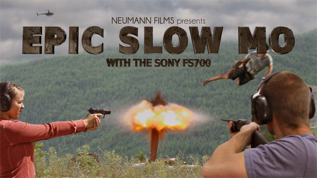 Epic Slow Mo with the Sony FS700 by Neumann Films
