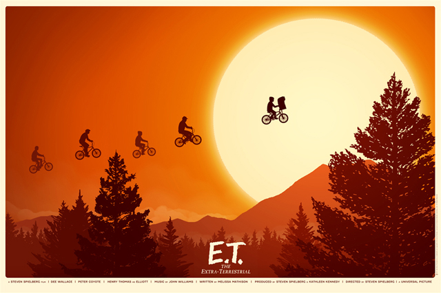 ET Poster by Mike Mitchell
