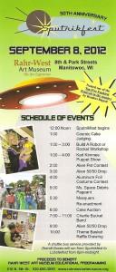 Sputnikfest 2012 Event Schedule