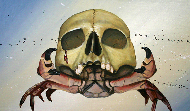 Skull Cancer by Robert Bowen