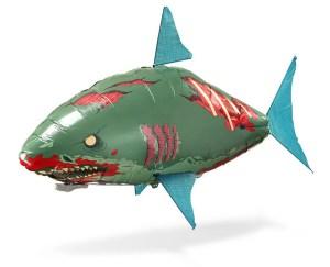 Zombie Shark Air Swimmer R/C at ThinkGeek