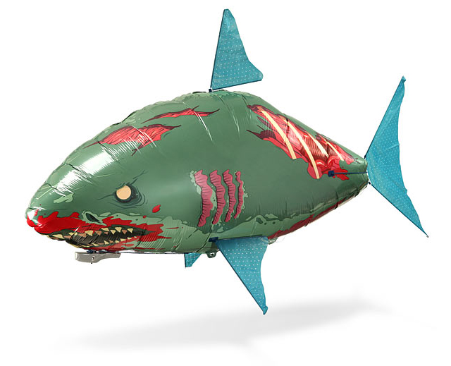 Air Swimmer Remote Control Inflatable Flying Zombie Shark