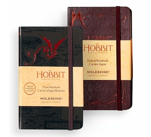 Limited Edition Hobbit Moleskine Notebooks at ThinkGeek