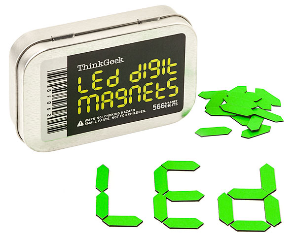 LED Digit Magnets