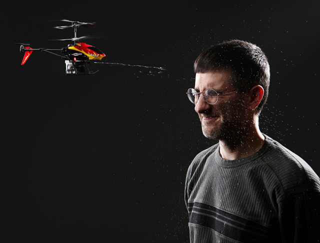 RC Water Cannon Helicopter