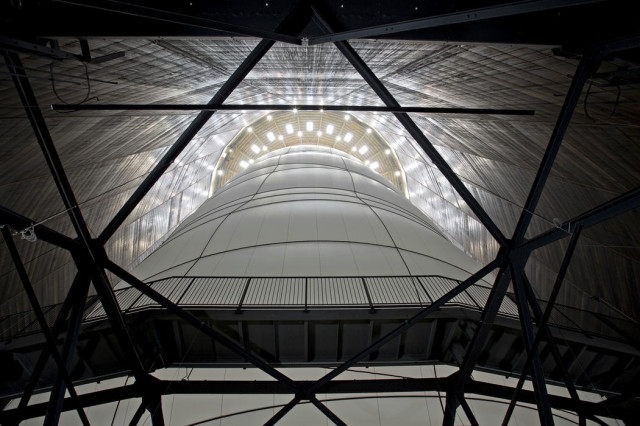 Big Air Package by Christo and Jeanne-Claude