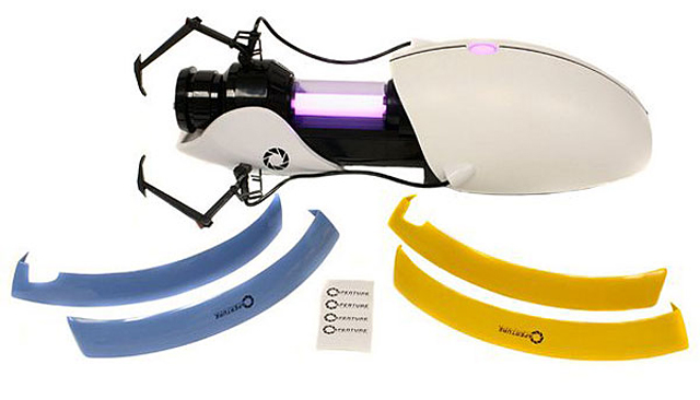 Customizable Aperture Science Handheld Portal Device at ThinkGeek