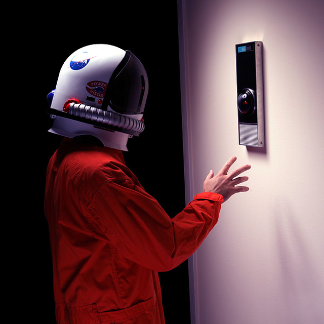 HAL 9000 Life-Size Replica at ThinkGeek
