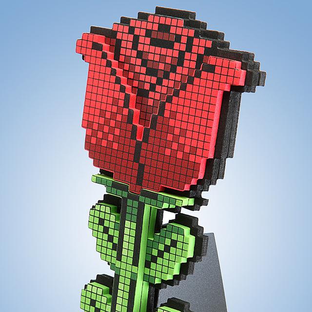 8-Bit Rose