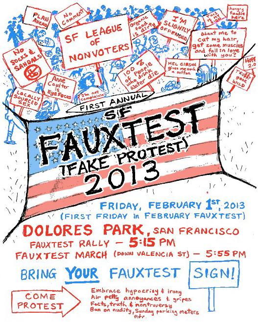 SF Fauxtest 2013