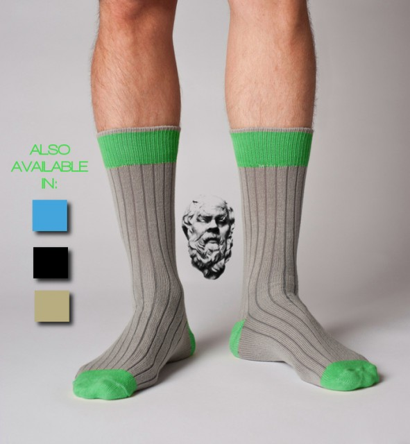 Socrates kevlar business socks