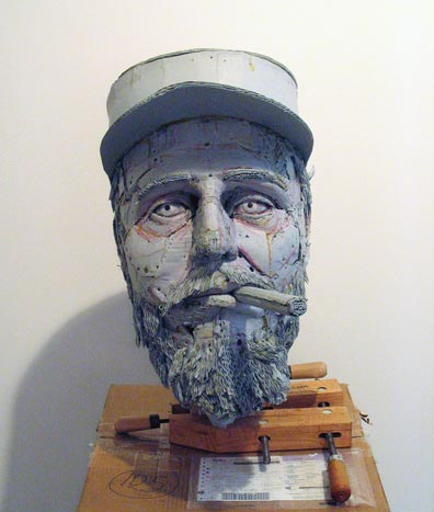 Cardboard Busts by Scott Fife
