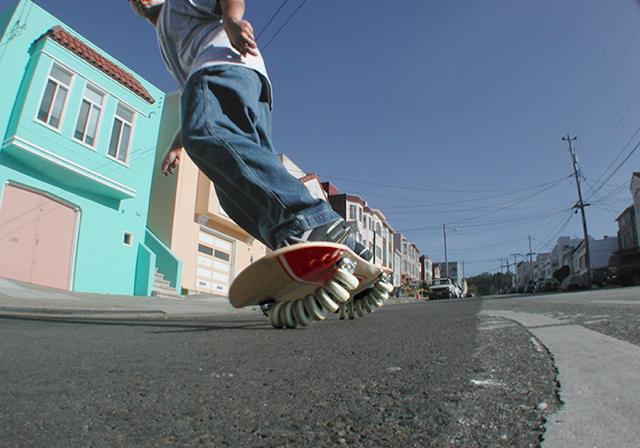 The Flowlab Skateboard