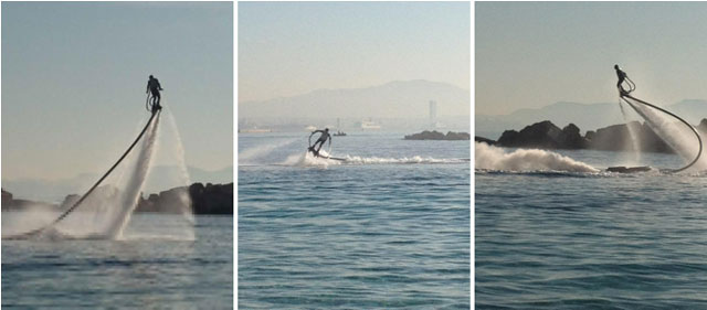 Flyboard water jet pack by Zapata Racing