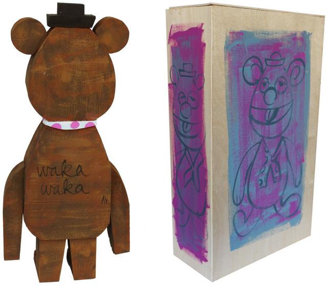 Fozzie wood idol by Amanda Visell