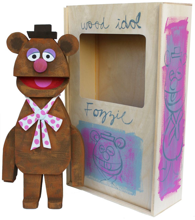 Fozzie wood idol by Amanda Visell