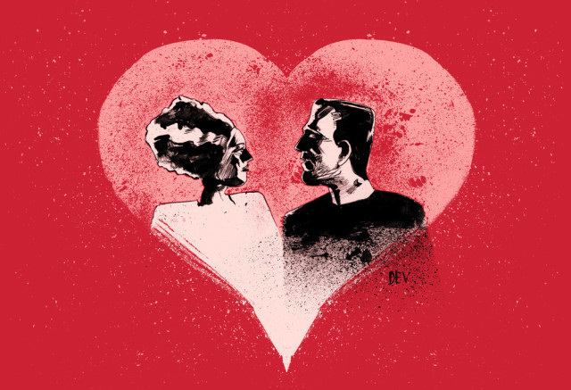 original valentine's day art prints featuring universal monsters, Ideas