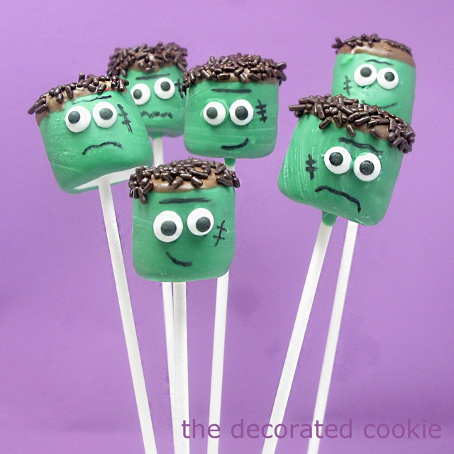 frankenstein-marshmallows