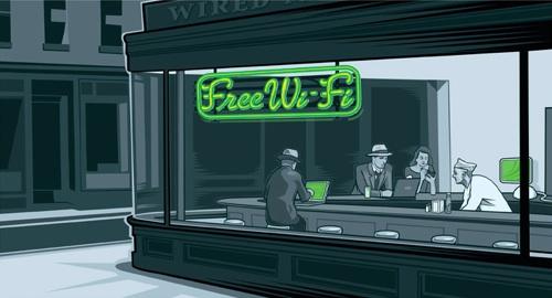 Wi-Fi Diner