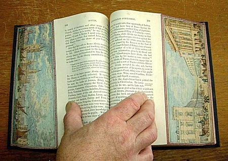 Martin Frost Fore-Edge Painting