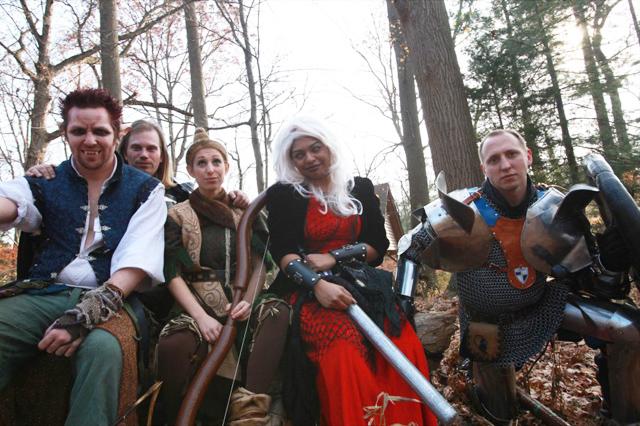 Realm of LARP cast