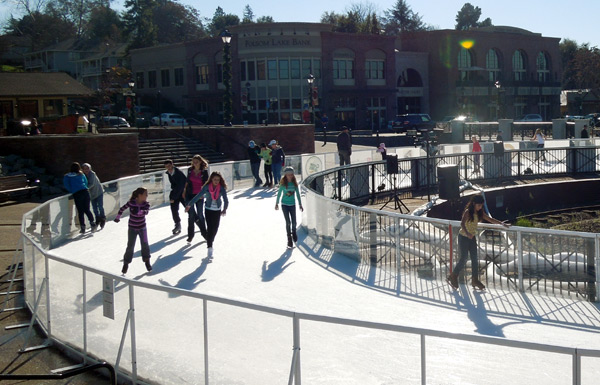 How Warm Weather Outdoor Ice Rinks are Made